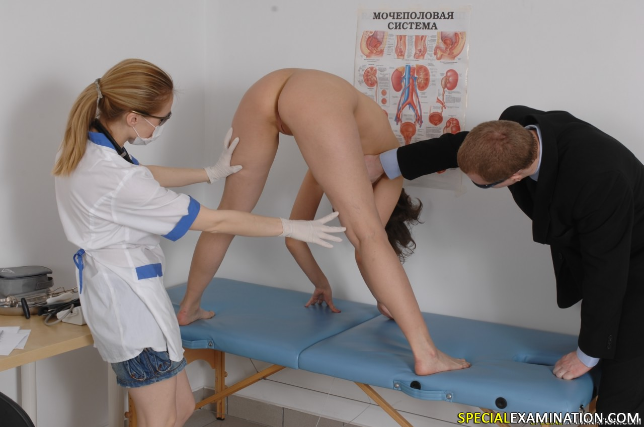 Fetish gyno movie
