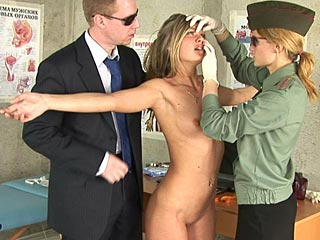 police nude exam