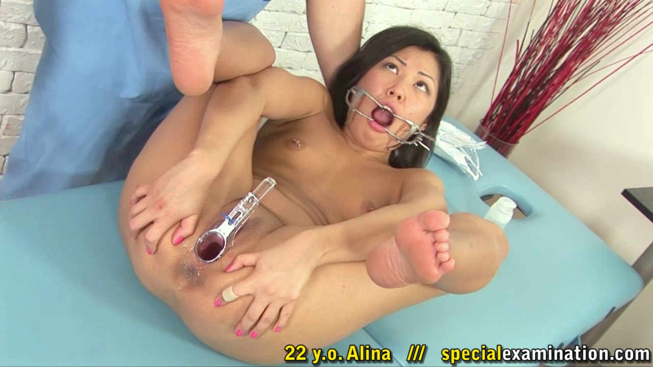 For asian girl rectal torture medical exam